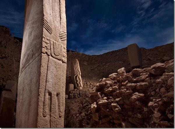 Gobekli tepe pillars