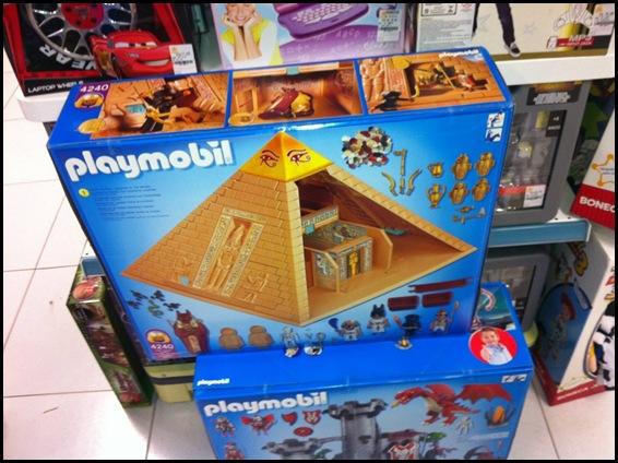 playmobil pyramid horus