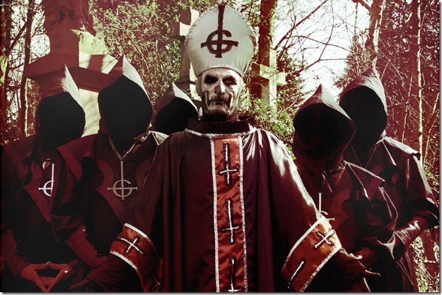 Ghost-pope
