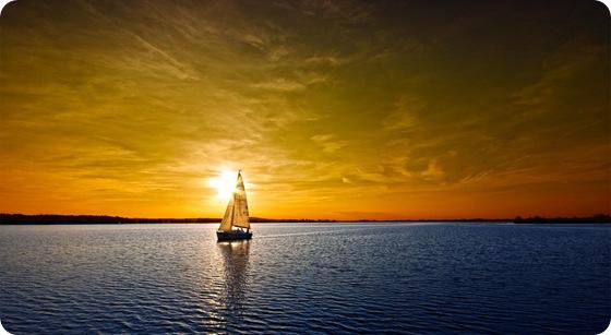 o barco da esperança flui sem pressa...