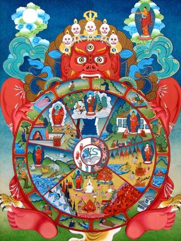Bhavacakra-tibetan-buddhist-mandala